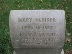 Mary <i>Wagenblast</i> Albiser