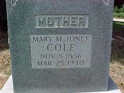 Mary Short <i>Jones</i> Cole