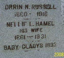 Nellie L. <i>Hamel</i> Russell