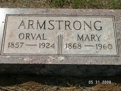 Mary Ann <i>Hague</i> Armstrong