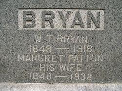 Margret Jane Mittie <i>Patton</i> Bryan