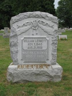 Martha E. <i>Skiles</i> Lesnett