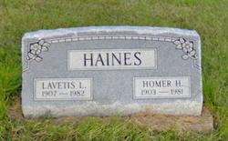 Homer Harold Haines