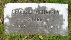 Georgie <i>Mehaffey</i> Starr