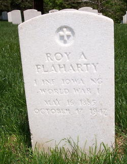 Roy A Flaharty