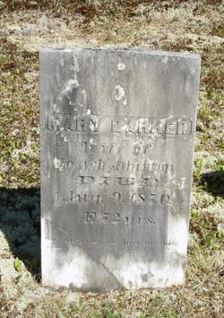 Mary <i>Barker</i> Atherton