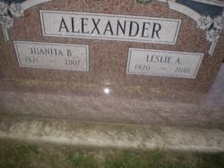 Leslie Allen Alexander