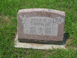 Janice Ruth Jr Timberlake