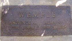 Alma Norah <i>Clifton</i> Wemple