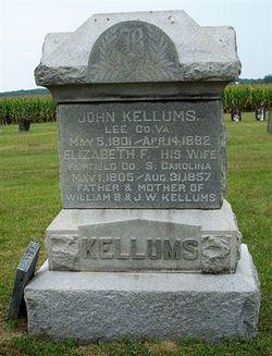 Elizabeth F. <i>Bryan</i> Kellums