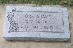 Orr Adams