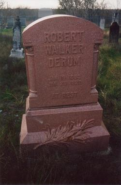 Robert Walker Derum