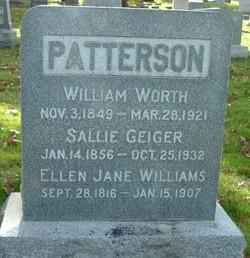 Ellen Jane <i>Williams</i> Patterson