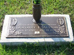 Dorothy E Alston