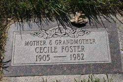 Cecile V <i>Behrend</i> Foster