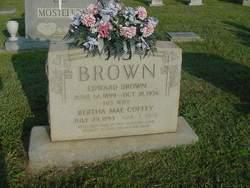 Bertha Mae <i>Coffey</i> Brown