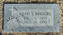 Mrs Erah L <i>Thomas</i> Bridges