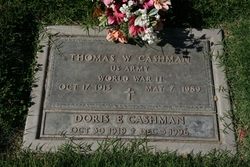 Doris Elizabeth <i>Walsh</i> Cashman