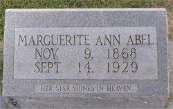 Marguerite Ann Abel