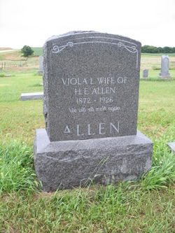 Viola L <i>Case</i> Allen