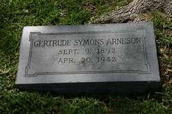 Gertrude E <i>Symons</i> Arneson