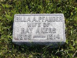 Rilla Ann <i>Pfander</i> Akers