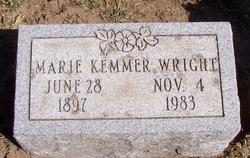 Marie <i>Cobb Kemmer</i> Wright