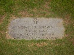 Howell L Brown