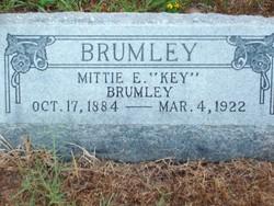 Mittie E <i>Key</i> Brumley