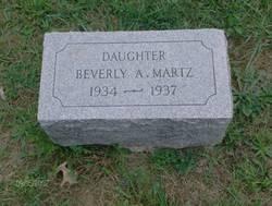 Beverly Ann Martz