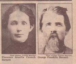 Florence Arzilla <i>Crouch</i> Barnett