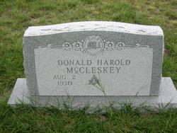 Donald Harold McCleskey
