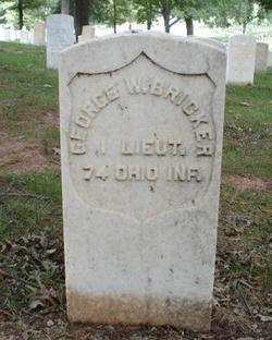 Lieut George W. Bricker