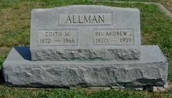 Rev Andrew Jackson Allman