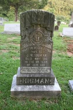 Mary Rebecca <i>Flynn</i> Higman