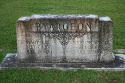 Mary <i>Lee</i> Byargeon