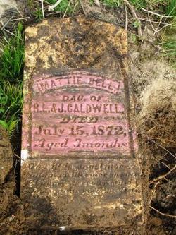Martha Bell Mattie Caldwell