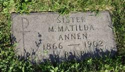 Sr M. Matilda Annen