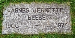 Agnes Jeanette Beebe