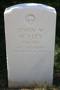 John W Ackley