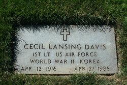 Cecil Lansing Davis