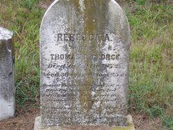 Rebecca A. <i>Hazel</i> George