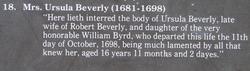 Ursula <i>Byrd</i> Beverley