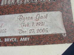 Byron Gail Anderson