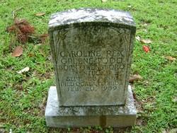 Caroline Rex <i>Green</i> Todd
