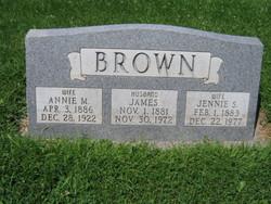 Annie <i>Magleby</i> Brown