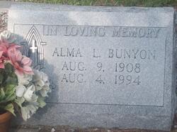Alma L. Bunyon