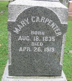 Mary <i>Mitchell</i> Carpenter