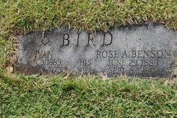 Rose A <i>Benson</i> Bird