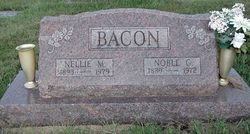 Nellie Maude <i>Jordan</i> Bacon